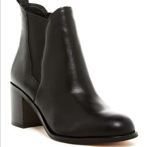 Sam Edelman Justin Leather Chelsea Ankle Boots